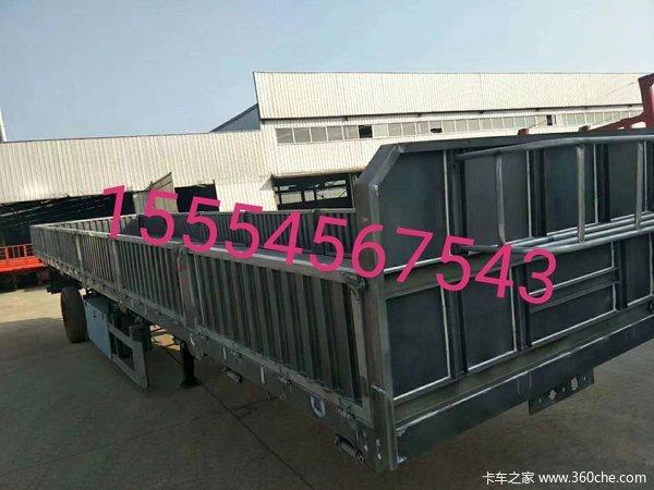 13米长,高60公分,标箱侧翻自卸半挂车图片