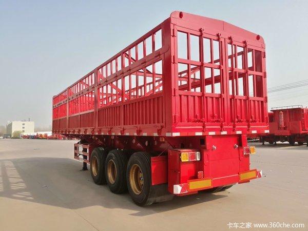 带户一体苍蓝自卸11米/13米X宽2.55米X高1.8米自卸半挂车图片