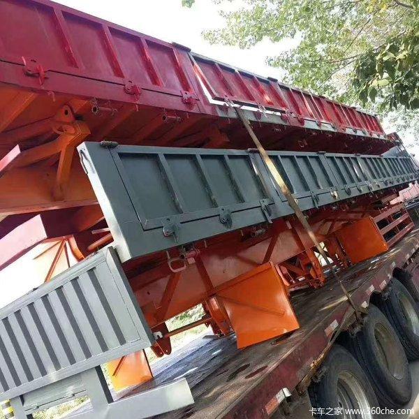 13米轻体标箱侧翻自卸车(全国可分期)自卸半挂车图片