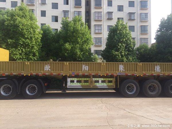 13米标箱、栏板半挂车-欧阳聚德栏板式半挂车图片