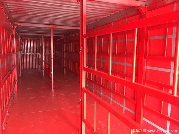轻型卷帘集装箱骨架半挂车-湖北欧阳聚德集装箱式半挂车图片