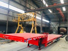 13.75米三米宽大板,全国可以上户平板式半挂车