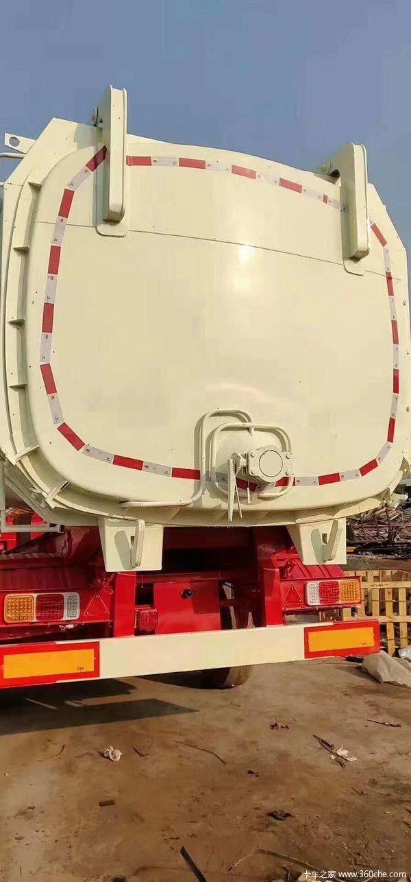 罐式后翻自卸车正规公告自卸半挂车图片