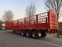 自重5.8吨的高栏全国办理分期仓栅式半挂车图片