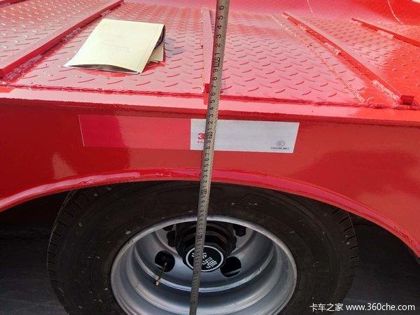 骏骋车辆凹梁式低平板图片