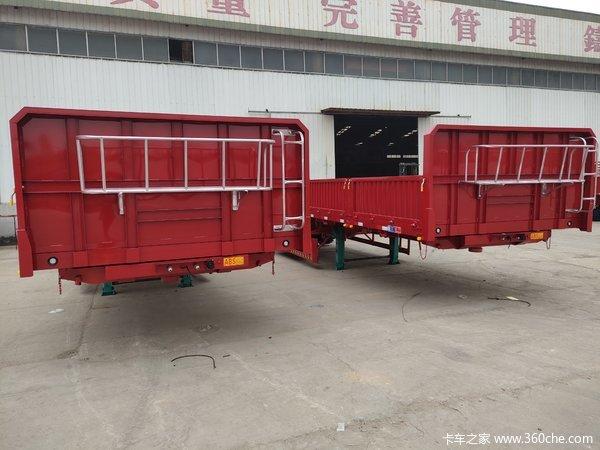 自重最轻6吨!普通配置6.26吨自卸半挂车图片