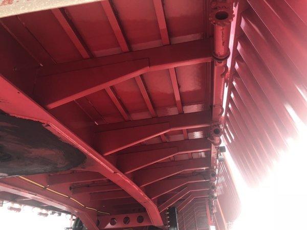 13米半挂车自重轻强度高支持以旧换新以重换轻栏板式半挂车图片