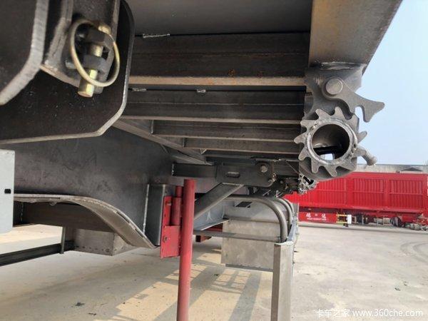 13米11米平板侧翻半挂车支持以旧换新自卸半挂车图片