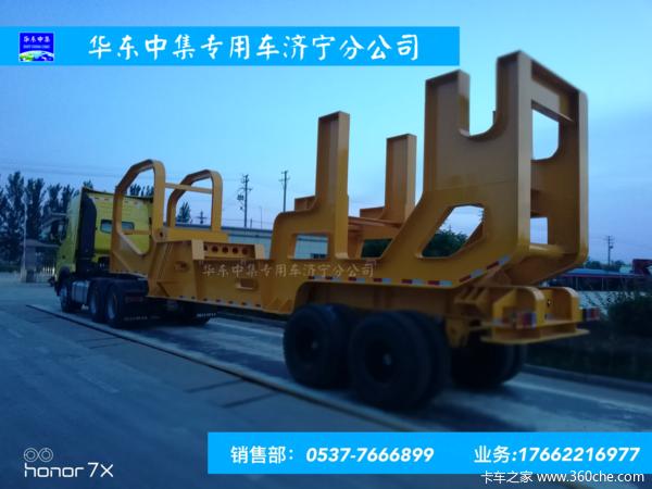 华东中集专用车有限公司生产销售各特种车辆轴线挂车图片