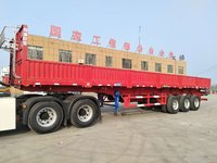 13米标准自卸半挂车!6.8吨保拉60吨自卸半挂车图片