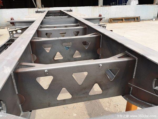 骨架集装箱半挂车骨架式集装箱半挂车图片