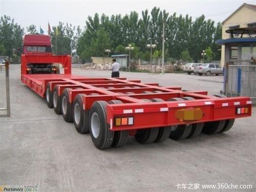 三线六轴,四线八轴,五线十轴,等等!大型物件运输车辆!轴线挂车图片