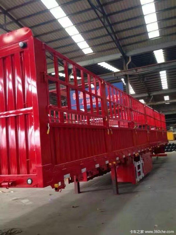 整车6吨,最实用的半挂车仓栅式半挂车图片