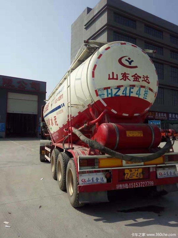 各种型号二手自卸半挂车散装水泥罐车自卸半挂车图片