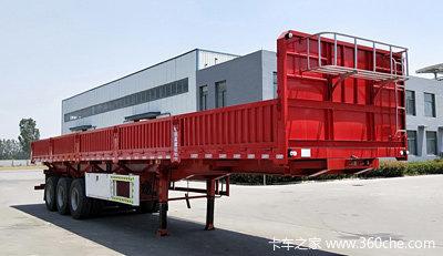 厂家直销:超轻型侧翻自卸车`长13米/11米、可以旧换新自卸半挂车图片
