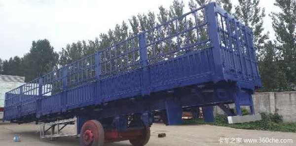 13米仓栏半挂车高强钢制作仓栅式半挂车图片