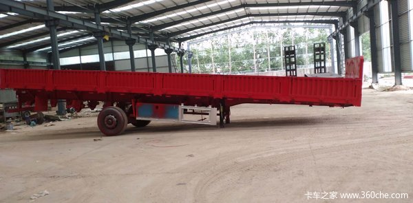 十一米十二米十三米标箱厂家定做栏板式半挂车图片