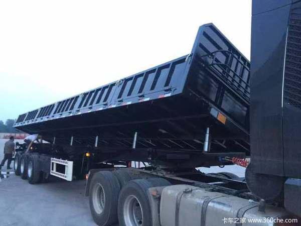(最新款)超轻型13米仓栏,厂家直销,以旧换新,更结实的半挂车仓栅式半挂车图片