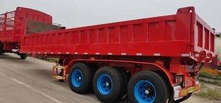 8.2米—9米前顶自卸车自卸半挂车