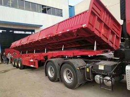 13米轻量化自卸车自卸半挂车