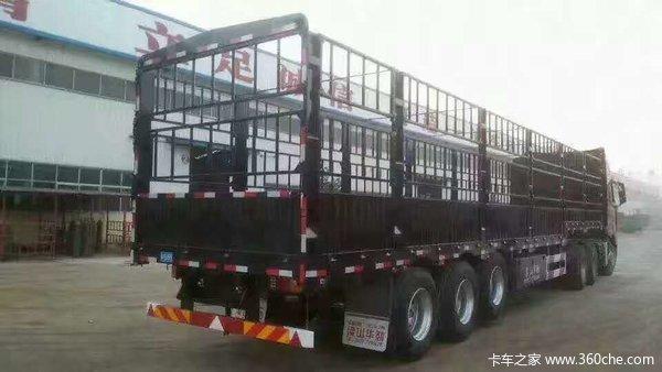 新款超轻型仓栏车,厂家直销、(以旧换新,支持全国分期付款,可全国上户)仓栅式半挂车图片