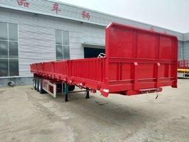 十三米六十公分标箱侧翻厂家定做自卸半挂车