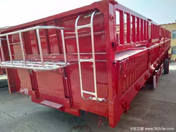 十三米六十公分标箱侧翻厂家定做自卸半挂车图片