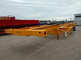 集装箱骨架运输半挂车二十英尺四十英尺骨架式集装箱半挂车