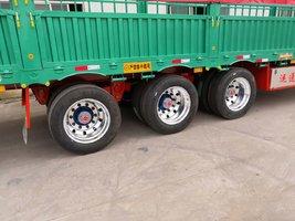13米高低仓栏车整车5.38吨配货好帮手仓栅式半挂车