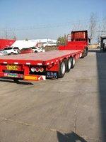 东旭挂车13米75低平板3米等宽自重轻多拉货低平板半挂车