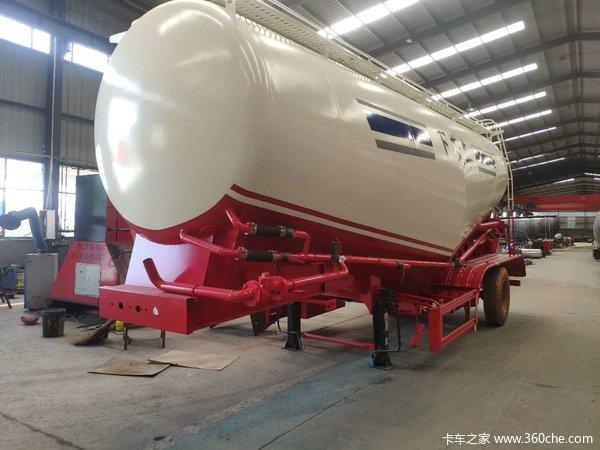 标载水泥罐车粉粒物料运输半挂车图片