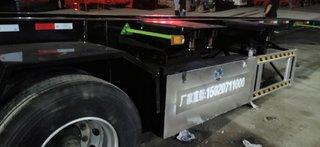 骨架、集装箱半挂车集装箱底盘
