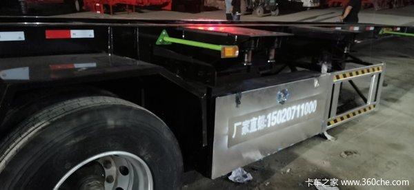 骨架、集装箱半挂车集装箱底盘图片