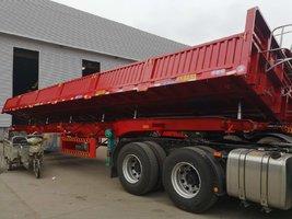 最轻自卸整车自重5.8吨自卸半挂车