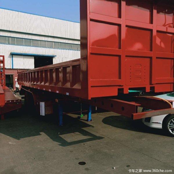 仓珊式半挂车,栏板半挂车,一体后翻半挂车,厂家直销仓栅式半挂车图片