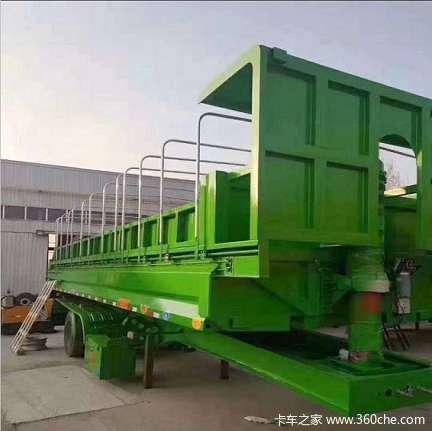 环保自卸车,U型自卸车自卸半挂车图片