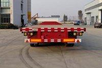 13米75低平板13米平板厂家直销低平板半挂车图片