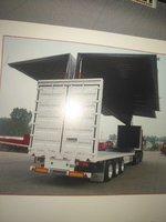13.75米一15米展翼厢式车和集装箱运输车厢式半挂车