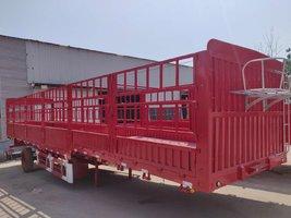 轻型仓栏半挂车,整车5.8吨!!栏板式半挂车