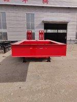 专业生产13.75米大件运输半挂车低平板半挂车