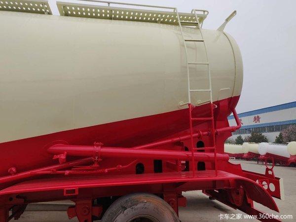 36—75立方罐车现车出售,打灰快,自重轻,剩料少!!粉粒物料运输半挂车图片
