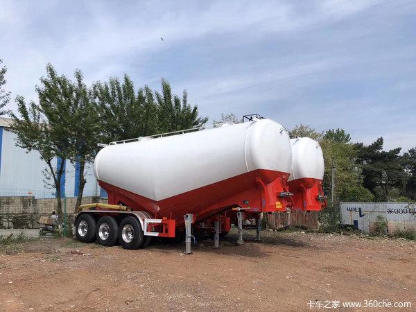 粉罐领导者,35方自重5.4吨,现车三万提车粉粒物料运输半挂车图片
