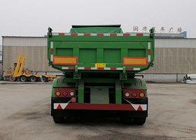 厂家直销自卸后翻半挂车8.599.5米定做含运费自卸半挂车