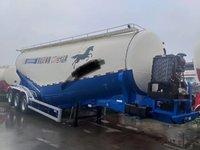 轻体罐车全国最轻东北地区粉粒物料运输半挂车图片