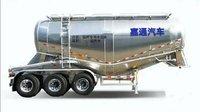 嘉通牌铝合金粉粒物料运输半挂车同行业的高端品牌支持分期付款粉粒物料运输半挂车图片