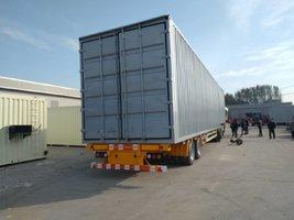 集装箱运输半挂车集装箱式半挂车