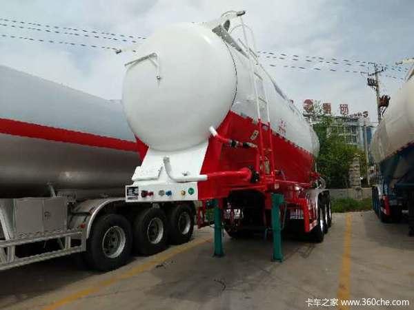 厂家直销水泥罐车下灰车立方可选罐式半挂车图片