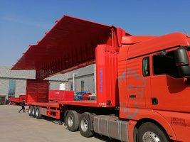 13.75米展翼厢式运输半挂车厢式半挂车