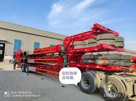 13.95米2桥车295轮胎支持分期集装箱式半挂车