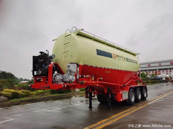 粉粒物料运输半挂车粉粒物料运输半挂车图片